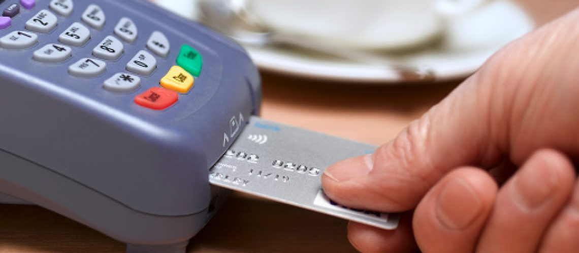 Paying with card reader